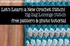 Fiona's Afghan Square and Crochet Stitch Tutorial