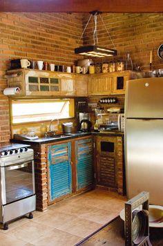 tijolinho a vista na cozinha 3