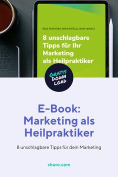 Neue Patienten und mehr Erfolg? Dafür musst du kein Marketing-Profi sein! Dieses E-Book unterstützt dich mit einfachen Tipps.