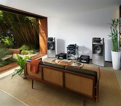 JBL K2 S99000 Speakers powered by Mark Levinson electronics