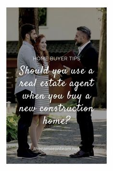 Before you commit to an onsite agent at a new construction community, consider how a local Realtor can help you. Real Estate Articles, Borrow Money, Buying A New Home, Residential Real Estate, First Time Home Buyers, Real Estate Investing, Inbound Marketing, Lead Generation, Real Estate Marketing