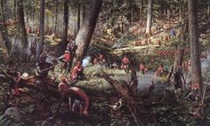 """""""One Mile to Bushy Run Station"""" August 5,6 1763.   By Robert Griffing"""