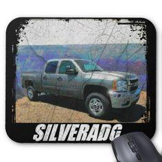 2013 Silverado 2500HD Crew Cab LT Mouse Pad