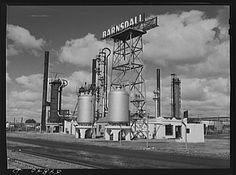Barnsdall oil refinery. Wichita, Kansas 1941