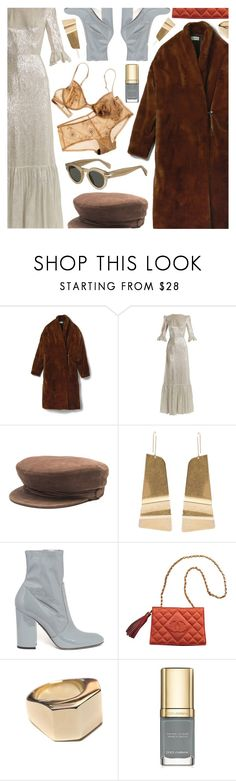 """Untitled #7013"" by amberelb ❤ liked on Polyvore featuring The Vampire's Wife, Maison Michel, CÉLINE, Valentino, Chanel and Dolce&Gabbana"
