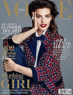 Vogue Mexico October 2015 Cover (Vogue Mexico)