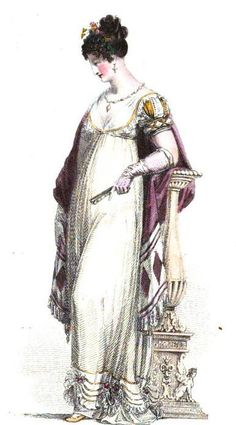 Regency Fashion: Morning and Evening Dress for Late Winter - Regency Reader