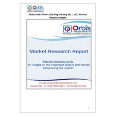 The 'Global and Chinese Slip Ring Industry, 2011-2021 Market Research Report' is a professional and in-depth study on the current state of the global Slip Ring industry with a focus on the Chinese market.   Browse the full report @ http://www.orbisresearch.com/reports/index/global-and-chinese-slip-ring-industry-2011-2021-market-research-report .  Request a sample for this report @ http://www.orbisresearch.com/contacts/request-sample/180500 .