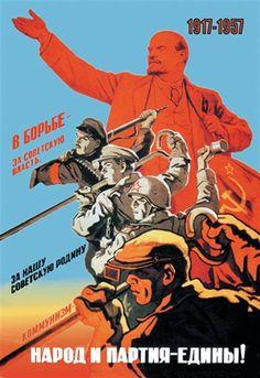 Soviet Union Poster