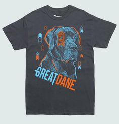 Great Dane Pup Star Breed Tshirt by PoutinePress on Etsy, $18.00