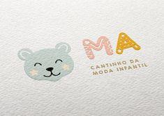Baby Store Display, Round Logo, Studio Logo, Baby Boutique, Logo Ideas, Logos, Visual Identity, Typo, Business Ideas