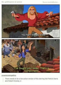 "It's so beloved that people have come up with some pretty great casting ideas for a remake. We Need To Talk About ""Road To El Dorado"" Funny Quotes, Funny Memes, Hilarious, Jokes, Film Quotes, Disney And Dreamworks, Disney Pixar, Disney Films, Naruto E Boruto"