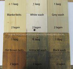 Steigerhout behandelen is wel aan te raden om de levensduur te verlengen. Hier kunt u lezen hoe dit het beste en makkelijkst gedaan kan worden