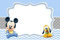 Mickey is coming and ready to enliven your birthday party. Here are several most popular Mickey Mouse Clubhouse birthday invitations designs from us. This cute mouse always be a kid's favorite birthday party theme. A classic Mickey is wearing red jum Free Baby Shower Invitations, Mickey Mouse Birthday Invitations, Mickey Mouse Clubhouse Birthday, Baby Shower Printables, Party Invitations, Printable Invitations, Invitation Ideas, Mickey Mouse Baby Shower, Baby Mouse