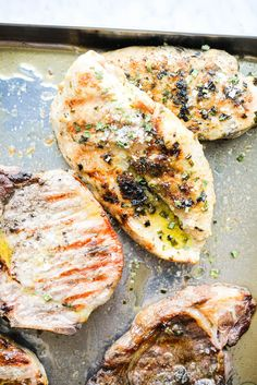 Grilled chicken breasts have the potential to be juicy and delicious -- whether you're a grill-master or a newbie, this recipe is for you! Grilled Chicken Breast Recipes, Perfect Grilled Chicken, Dash Recipe, Basic Butter Cookies Recipe, Fed And Fit, Best Low Carb Recipes, Healthy Weeknight Dinners, Chicken Spices, Appetizer Recipes