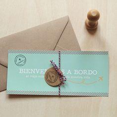 Invitaciones de boda – Boarding pass tarjeta de embarque | How Nice Project