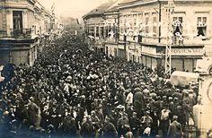НОВИ САД, УЛАЗАК СРПСКЕ ВОЈСКЕ 1918 - Novi Sad, Serbia - entrance of Serbian army 1918
