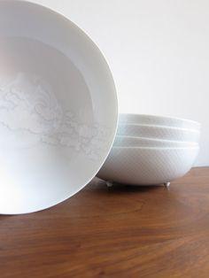 Rosenthal Century Cumulus Tapio Wirkkala & Rut Bryk Soup Bowls, Set of 5