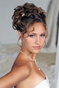 Astonishing Beautiful Wedding And Curly Hair On Pinterest Short Hairstyles Gunalazisus