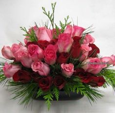 //pink flowers #floraldesign