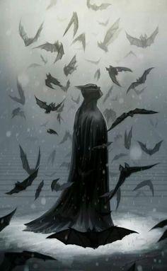 Batman, o cavaleiro das trevas.