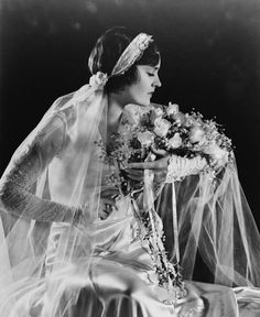 """Might have to make an exception to my """"no veil"""" rule...((Juliet caps, flowers, and lace: fabulous vintage veils and headpieces 