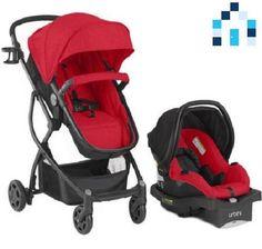 Urbini Omni 3 In 1 Travel System Baby Infant Toddler Stroller Car Seat Pram Kid #UrbiniOmniPlus