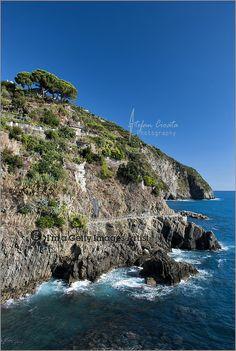 The coast of Cinque Terre | Italy