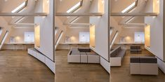 [ Home Office ] Modern ideas for comfortable work at home: design, images ~ Art Facade Minimalist Interior, Minimalist Home, Small Apartments, Small Spaces, Home Office Design, House Design, Living Room Designs, Living Spaces, Home Design Images