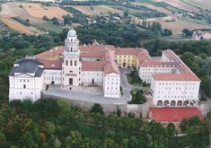 Founded in 996 AD. John Pawson; Archabbey of Pannonhalma (Renovation); Gyor, Hungary, 2012.
