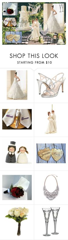 """""""Wedding!!!!!!!!!!!!!"""" by lameen ❤ liked on Polyvore featuring beauty, Caparros, Lenox, OKA and Waterford"""
