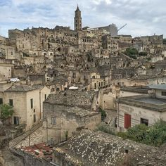 It's difficult to believe a place of manmade wonder this beautiful can even exist. The sassi (cave dwellings) town of Matera, Italy in the southern province of Basilicata. Among the most stunning towns I've seen in all of Italy, even on a day of spotty weather. (Some might argue *the* most.) Its history (ancient, Renaissance and modern rebirth) is remarkable too. via Instagram http://ift.tt/1P9jWum