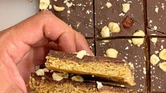 Healthy Granola Bars, Healthy Snacks, Healthy Recipes, The Kitchen Food Network, Protein Bars, Greek Recipes, Food Network Recipes, Food Inspiration, Sweet Tooth
