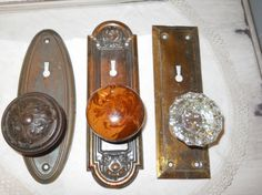 Shop for on Etsy, the place to express your creativity through the buying and selling of handmade and vintage goods. Old Door Knobs, Vintage Door Knobs, Arched Doors, Old Doors, Attic Office, Door Entryway, Upcycled Vintage, Vintage Stuff, Arches