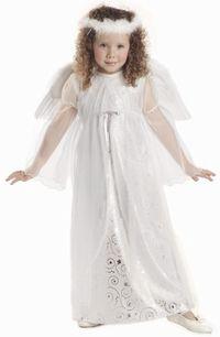 childs white harmony angel costume #christmas