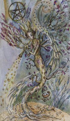 L'as d'écus - Tarot Paulina par Paulina Cassidy