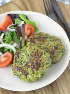 Chicken and spinach burgers - Recetas - Pollo Real Food Recipes, Chicken Recipes, Cooking Recipes, Healthy Recipes, Free Recipes, Spinach Burgers, Healthy Cooking, Healthy Eating, Food Porn