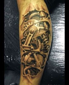 Steam punk tattoo