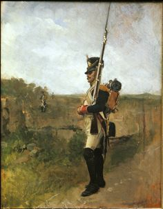 The Sentry (La Vedette). Jean-Louis-Ernest Meissonier, 1890.