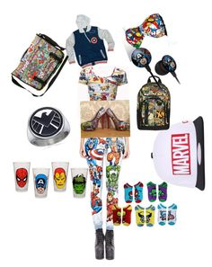 """Marvel crazii"" by simonsowner on Polyvore"