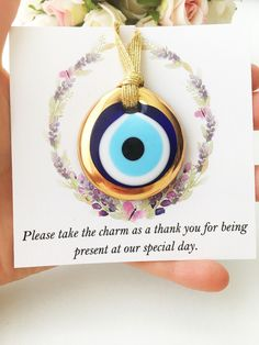 https://www.etsy.com/listing/555066441/personalized-wedding-card-nazar-boncuk Personalized wedding card, nazar boncuk, gold evil eye beads, wedding favors for guests, turkish evil eye, greek evil eye charm, unique wedding favors #weddingfavor #weddingfavour #favors #evileye #evileyes #evileyebeads #weddinggift #personalizedgift #greekbeads #turkishbeads #uniqueweddingfavor #goldevileye #goldbeads #bridesmaidgift #bridesmaidfavor #nazarboncuk