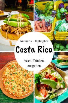 Komm mit mir auf eine Reise in die exzellente Kulinarik von Costa Rica! Rice & Beans, Bananenbrot, Brot- und Backwaren, Märkte, frisches Obst & Gemüse.. in meinem Artikel erfährst du alles über die besten Schlemmer-Orte Puerto Viejos! Costa Rica, South America Travel, Solo Travel, Puerto Rico, Brunch, Vacation, Ethnic Recipes, German, Group