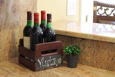 Check out our wine crate carrier coming soon to select Home Depot stores!