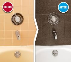 Tired of your boring, outdated tub & tile? Don't replace them, let us refinish them! The results are beautiful and can save you thousands compared to the cost of replacement. Contact us today!