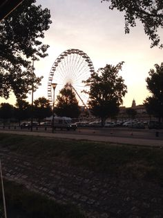 Sunset in Avignon