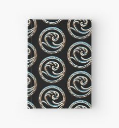 'Wave free your mind and go with the flow.' Hardcover Journal by NocturnDesign Canvas Prints, Framed Prints, Deep Sea, Art Boards, Jewelry Shop, Wall Tapestry, Decorative Throw Pillows, Flow, How Are You Feeling