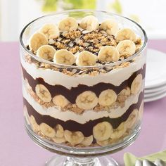 Thanks to the Trifle Bowl, a few pantry staples can be assembled into an eye-catching dessert.