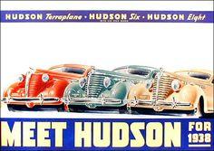 1938 Hudson Ad