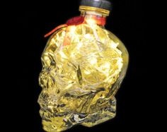Crystal Head Vodka Lamp by SuzisCrafts on Etsy