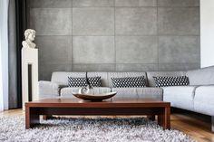 5 pomysłów na beton w salonie  - zdjęcie numer 3
